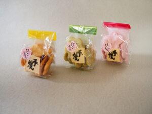 江面米菓 はなももせんべい